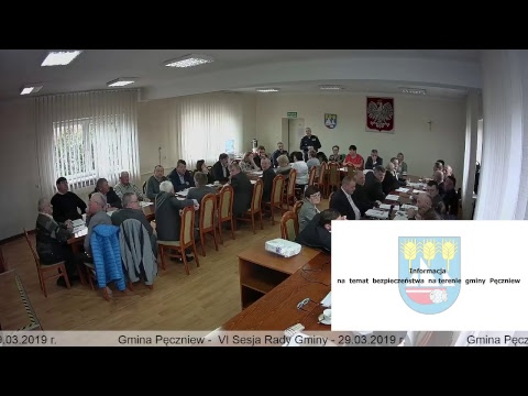 Gmina Pęczniew – VI Sesja Rady Gminy Pęczniew