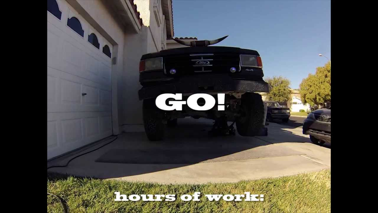 Ford Bronco Lift Install Timelapse Youtube