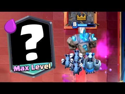 Clash Royale - MAXING A LEGENDARY! Big Trophy Push