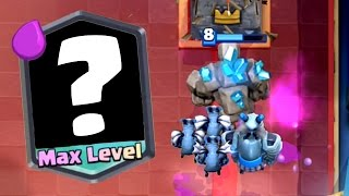 Clash Royale - MAXING A LEGENDARY! Big Trophy Push