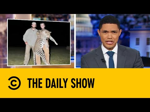 Trump Moves To Allow The Trophy Hunting Of Endangered Animals   The Daily Show With Trevor Noah