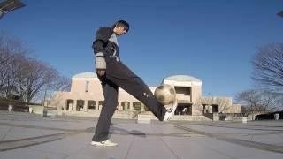宿題リフティング 超上級編 Super hard freestyle football drill
