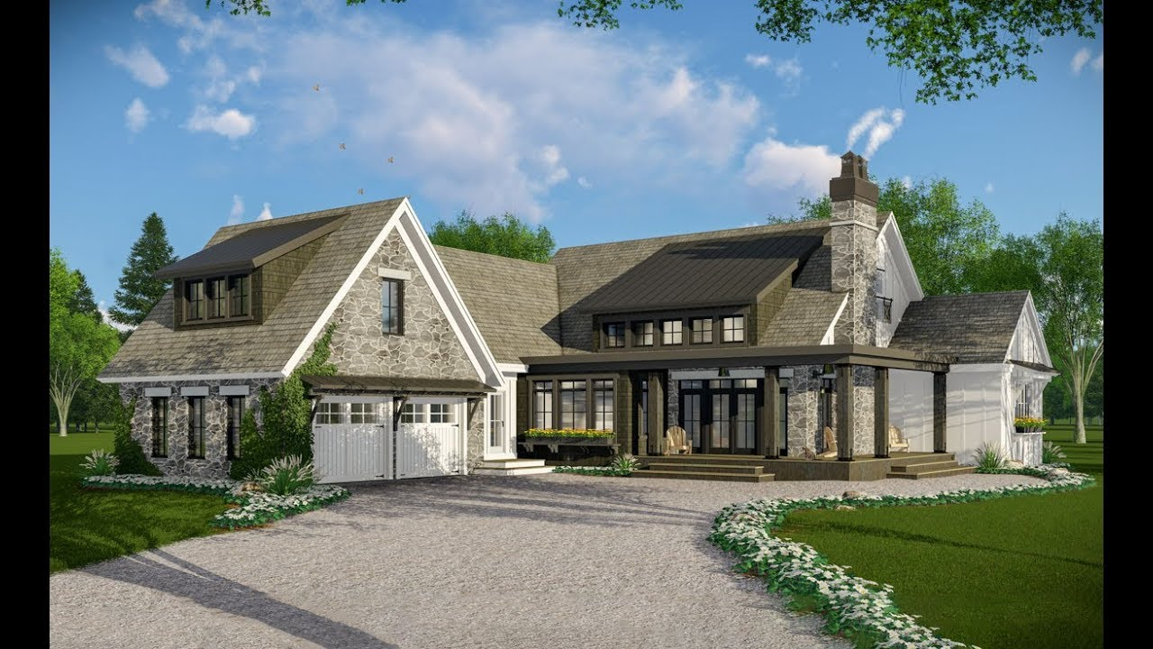 Architectural designs modern farmhouse plan 14664rk virtual tour