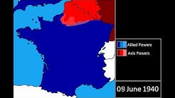 World War Two - Nazi Invasion of France: Everyday