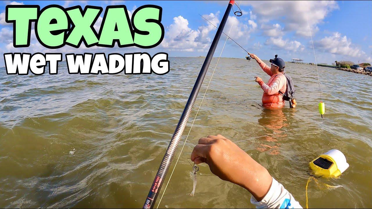 Download Live Shrimp under Popping Cork Wade Fishing