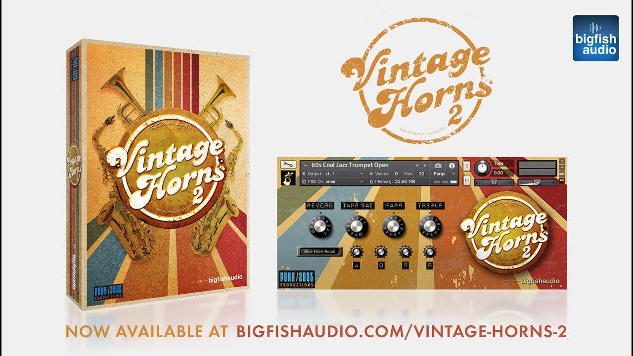 Vintage Horns Bundle