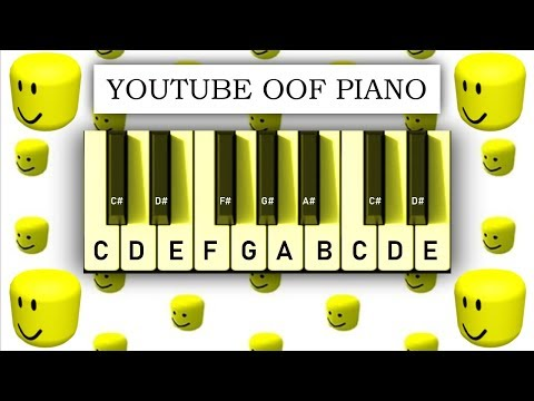 YouTube OOF Piano - Play It With Your Computer Keyboard
