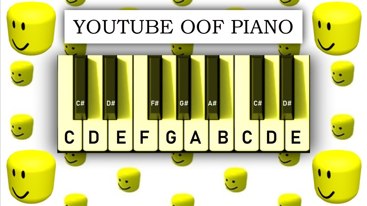 Youtube Oof Piano Play It With Your Computer Keyboard Youtube