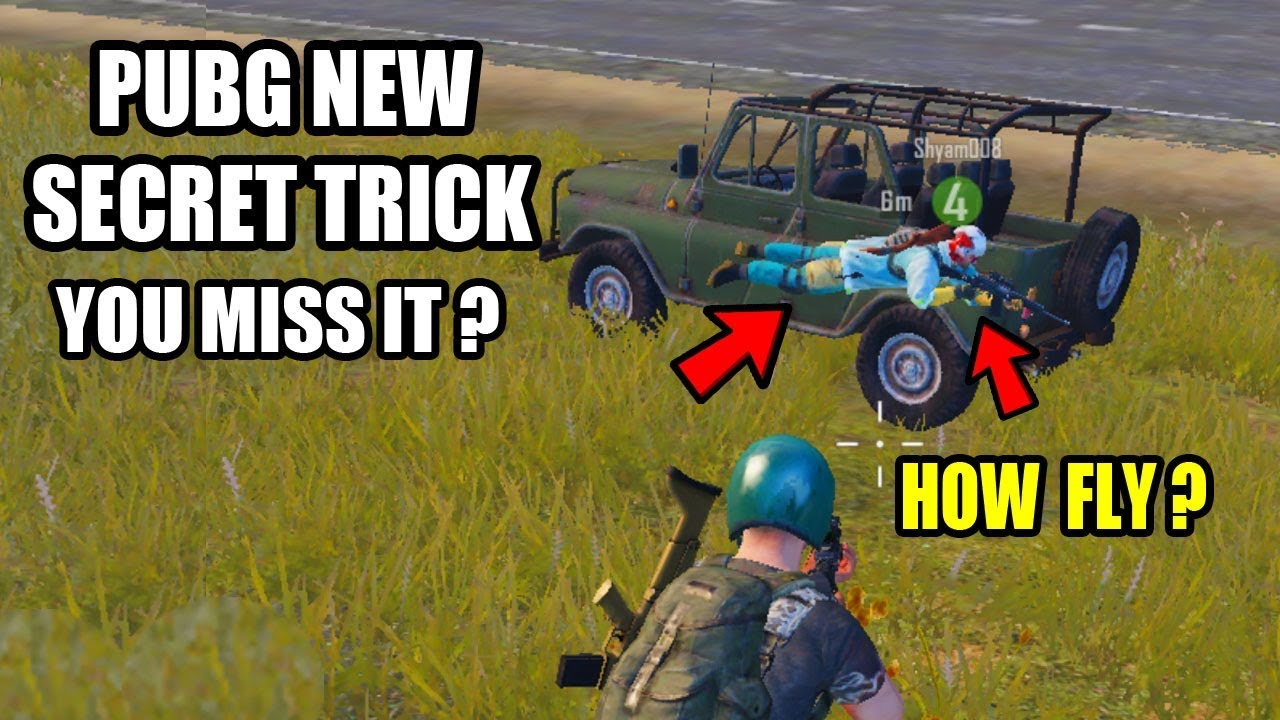 pubg how to fly farther