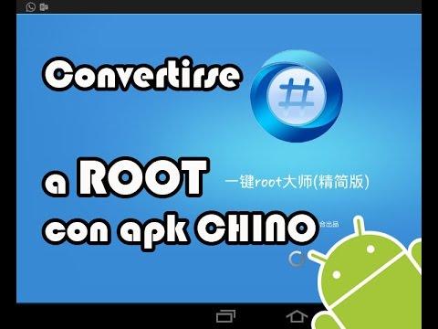 convertirse en root chino con apk pc