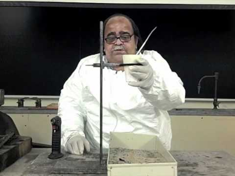 Thermite Reaction Demonstration - Aluminum and Iron (III) Oxide