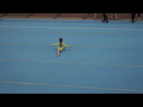 спортивная гимнастика Арина, 6 лет