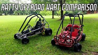Thrashing Cheap Offroad Go Karts