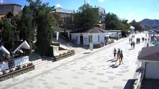 Веб камера Судак онлайн «Отдых-Судак.рф»(Камера расположена на набережной города Судак, вид на мыс Алчак. «Отдых-Судак.рф», 2013-09-01T07:26:39.000Z)