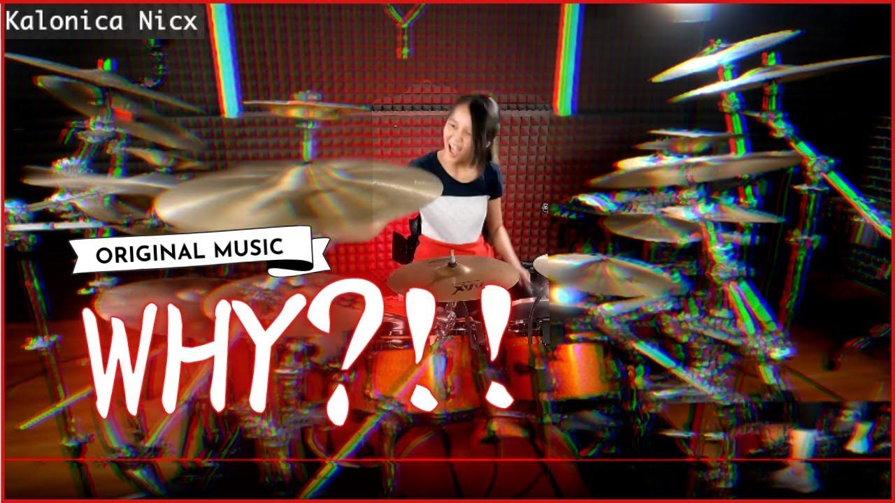 Kalonica Nicx & Dad Original Song ~ WHY?!! ~ Original Music Instrumental