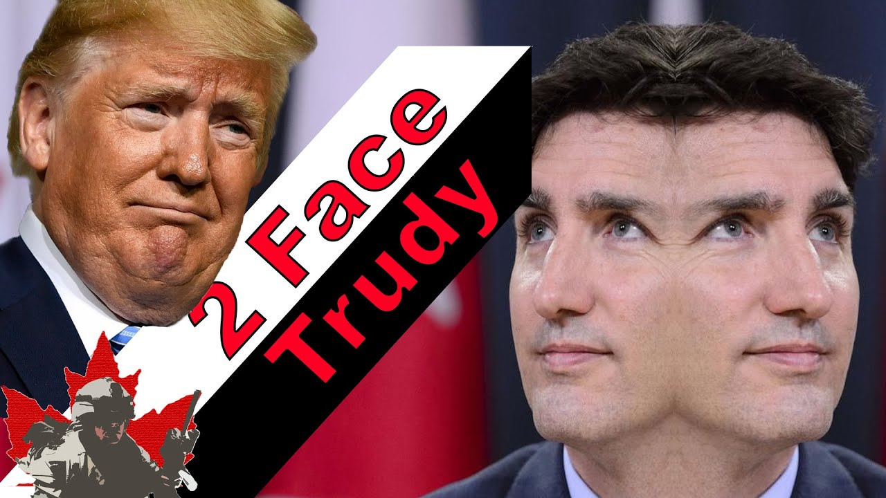 Trump Calls Prime Minister Justin Trudeau 'Two-Faced' | NATO Summit 2019