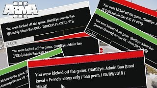 Getting BANNED from all Altis Life servers (non ENG ones)