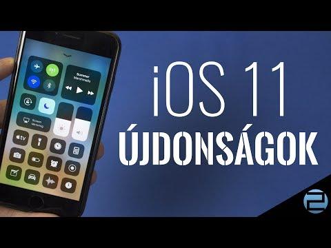 iOS 11 újdonságok - Tech2.hu