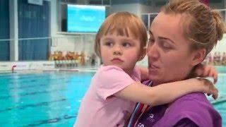 Надежда Глызина: «Милана, ты знаешь, что мама в водное поло играет?»