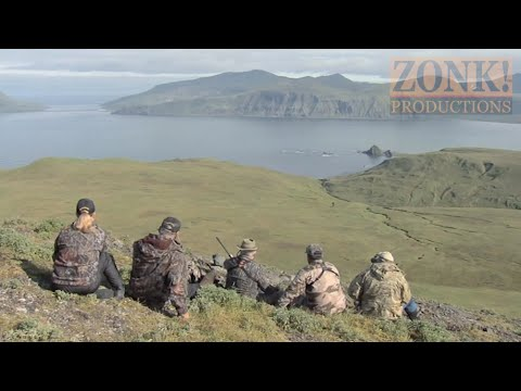 Larry Csonka Hosts Aleutian Reindeer Hunt- Part 1