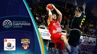 Montakit Fuenlabrada v Telenet Giants Antwerp - Highlights - Basketball Champions League 2018-19