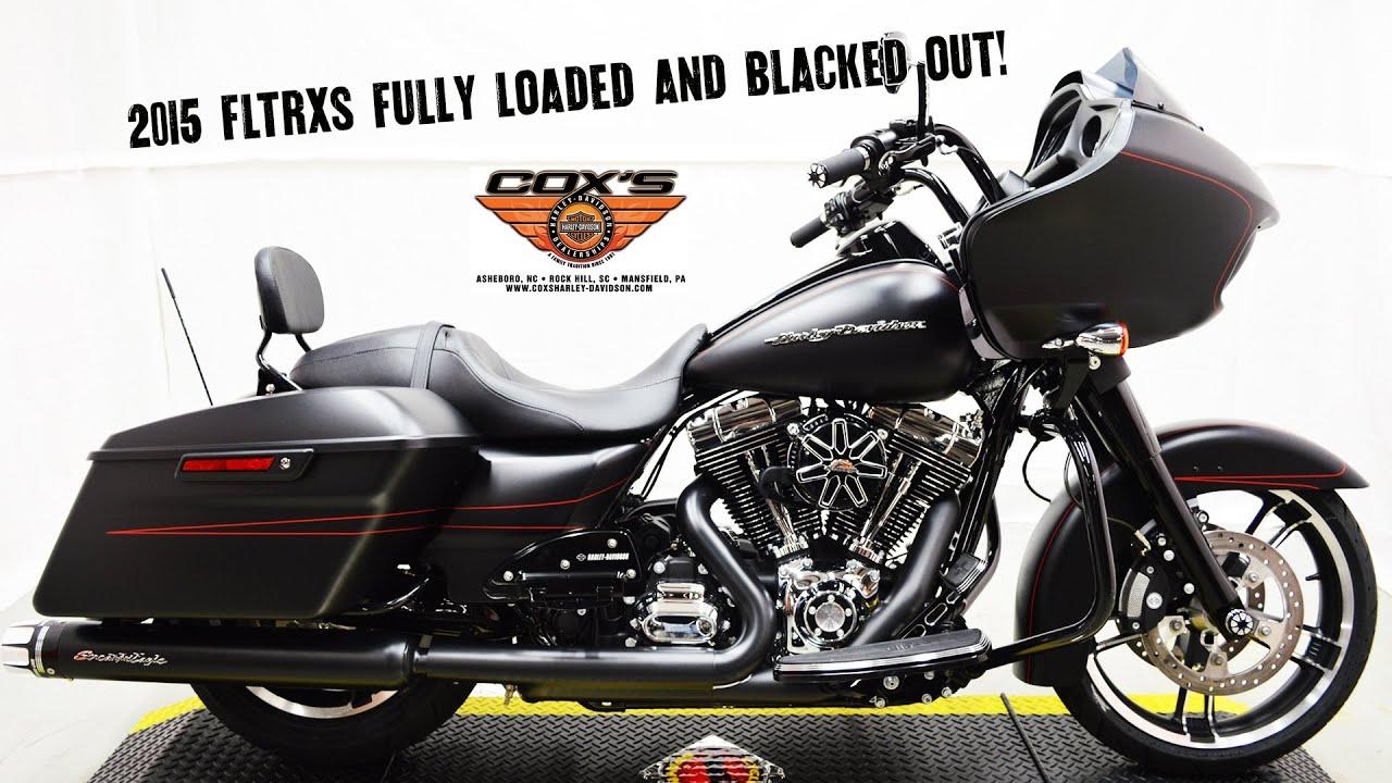 sold 2015 fltrxs road glide special stock pipes vs screamin eagle street canons harley davidson