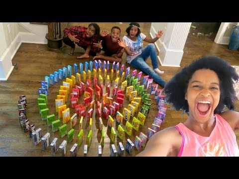 Thumbnail: INSANE CANDY DOMINO SPIRAL!!