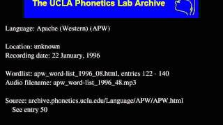 Western Apache audio: apw_word-list_1996_48