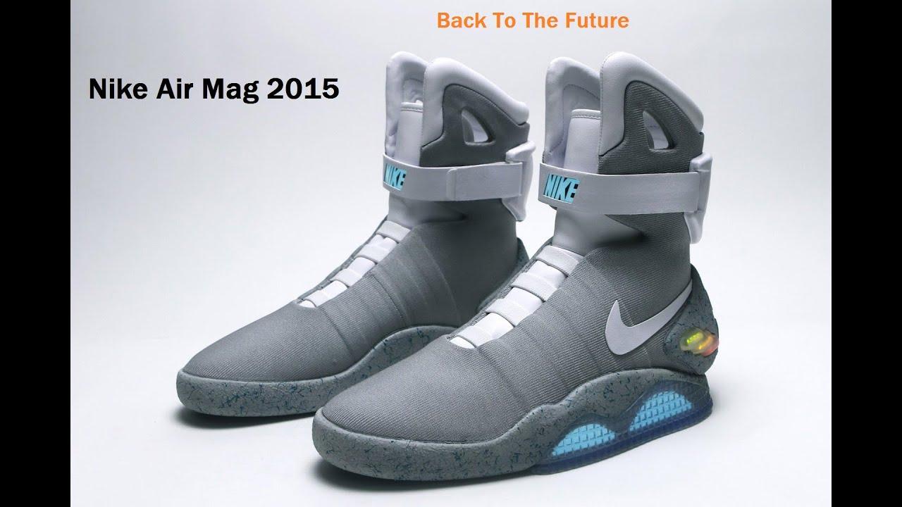 Nike Air Mag 2015 [tenis do de volta para o futuro] - YouTube