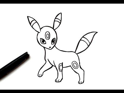 How To Draw Umbreon Pokémon