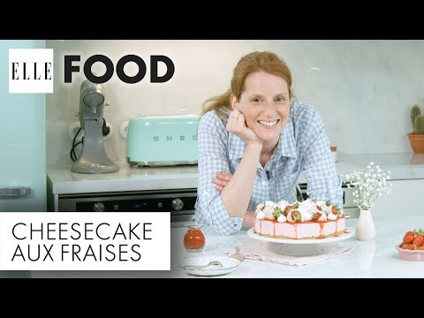 Recette - Cheesecake aux fraises (avec Fashion Cooking)