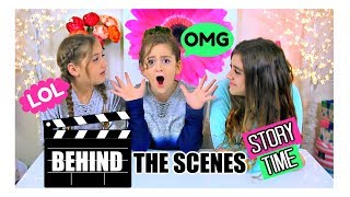 Filming A Slime Challenge Video - Everything Went WRONG!