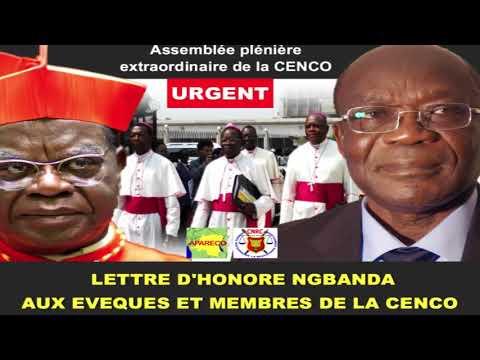 La Lettre d'Honoré Ngbanda aux Evêques et Membres de la CENCO en RDC
