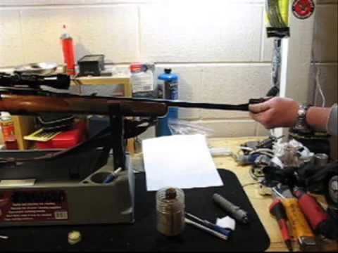 Semi-Auto Rifle Bore Cleaning Without Breach Access-Gunsmithing Gun Care