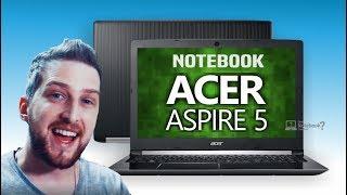 Notebook Acer A515-51G-C97B Review série Aspire 5 Análise completa