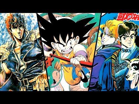 What Shonen Jump Was Like 30 Years Ago
