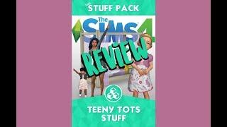 Sims 4 Fan Stuff Pack REVIEW ~ Teeny Tot Stuff