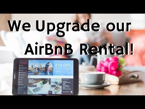 We Upgrade our AirBnB Rental with a YourWelcome Tablet