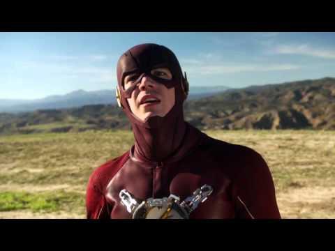 Flash saves Supergirl Supergirl 1x18