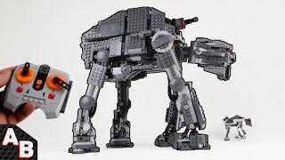 LEGO RC Motorized AT-M6 First Order Heavy Assault Gorilla Walker 75189 lego tlj