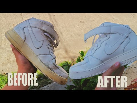 UKAY UKAY SHOES FULL RESTORATION | AIR FORCE 1 MID (SOLID)