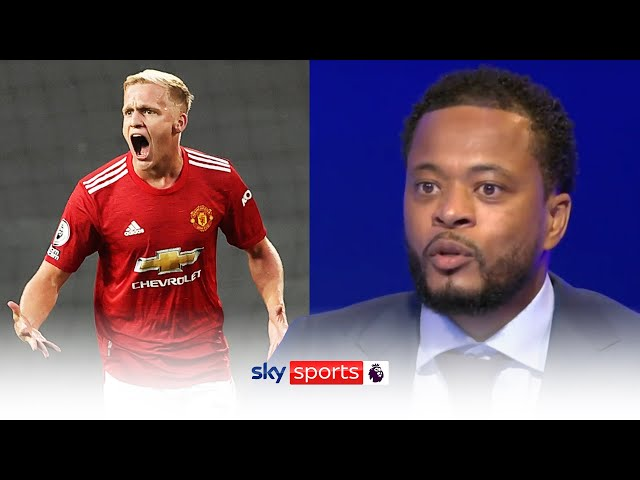 Patrice Evra questions why Donny van de Beek didn't start against Crystal Palace