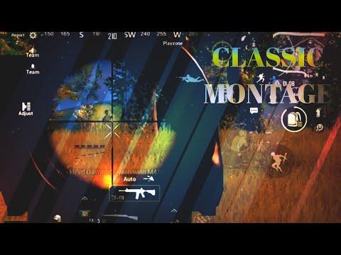 PUBG CLASSIC MONTAGE | PUBG MOBILE | REDMI NOTE 8 PRO | PART-3