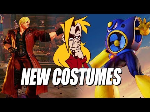 AIR MAN...AND DANTE?! Max Checks Out SFV's New Costumes