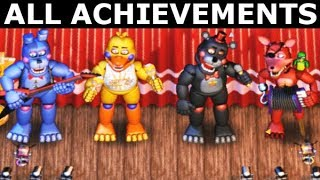 - FNAF 6 How To Get All The Band Achievements Freddy Fazbear s Pizzeria Simulator