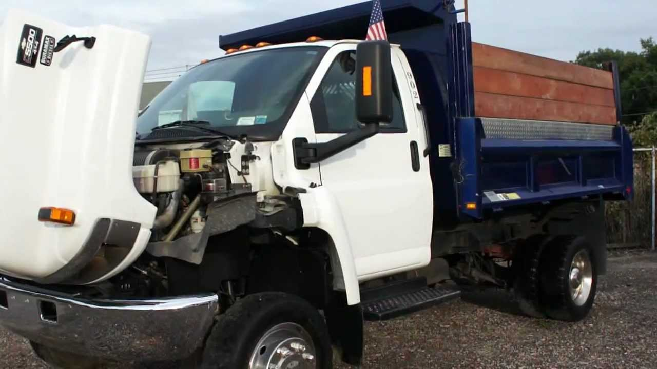 2005 Chevrolet C5500 4x4 Top Kick Big Diesel For Sale Dejana Mason Dump Box Only 30000 Miles