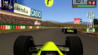 F1 World Grand Prix 2000 Suzuka Race  (PS1)