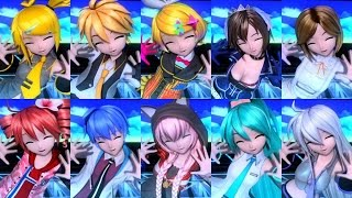 [60fps Full風 Compilation] Hand in Hand -ft Project DIVA Characters + [álbum]