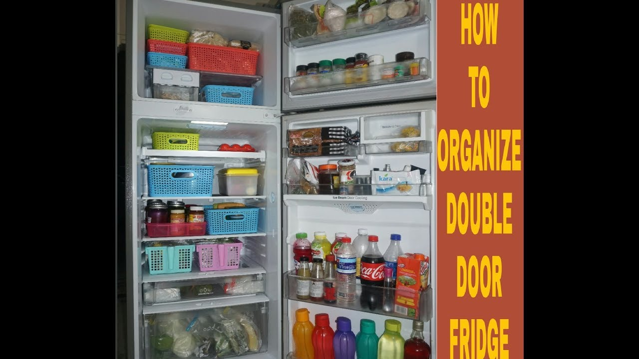 Fridge Organization Ideas L Indian RefrigeratorTour L HowTo Organize Small  Fridge |Kitchen Tips