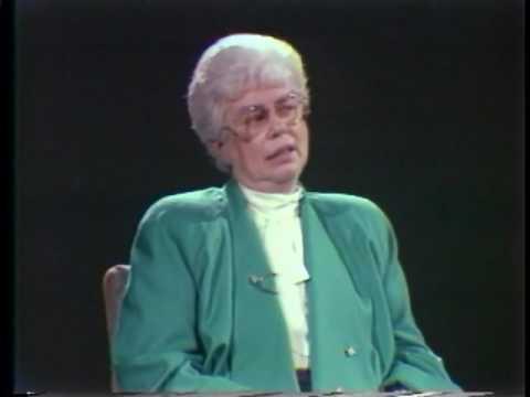Former Saint John Mayor, Elsie Wayne, Cable TV interview circa 1981